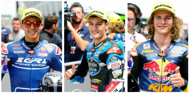 ASSEN: Moto3 & Moto2, Qualifications & WarmUp