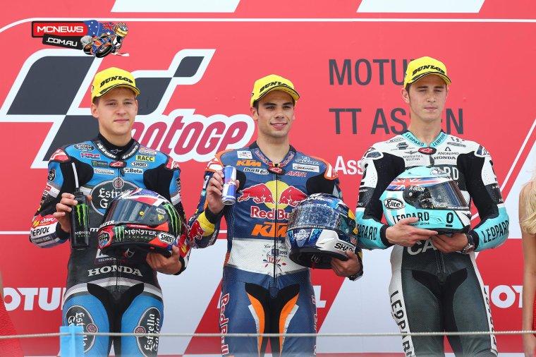 ASSEN: Moto3 & Moto2, les courses