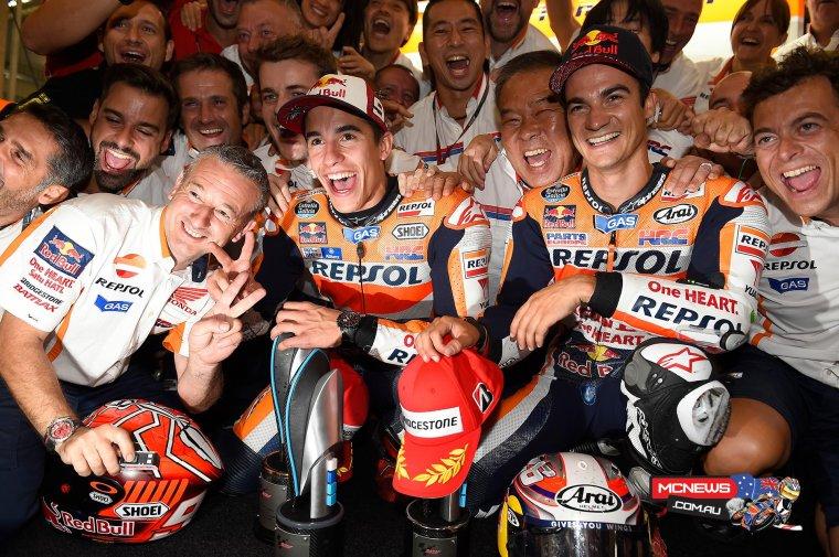 ALLEMAGNE: MotoGP, La course