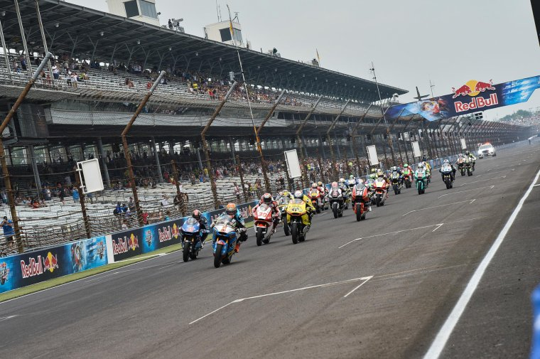 INDIANAPOLIS: Moto3 & Moto2, Les courses