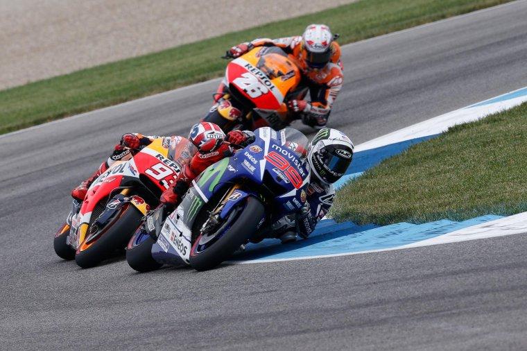 INDIANAPOLIS: MotoGP, la course