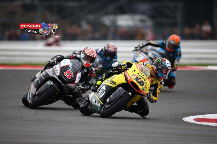 GRANDE-BRETAGNE: Moto3 & Moto2, Courses