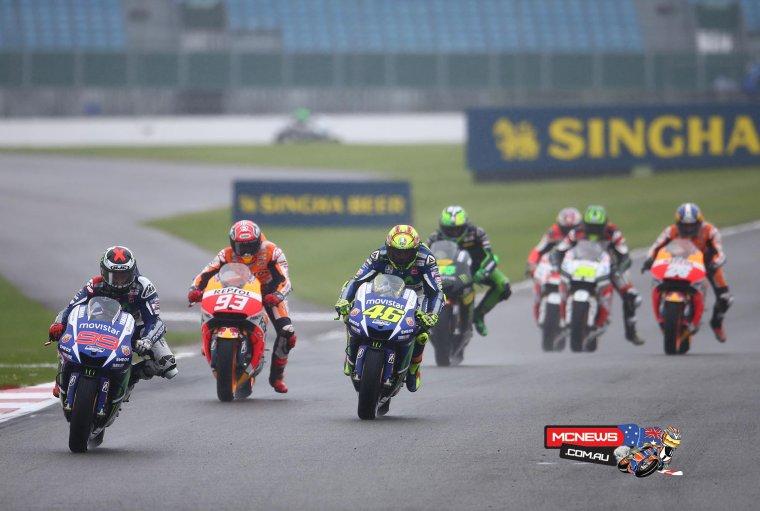 GRANDE-BRETAGNE: MotoGP, La course