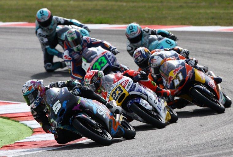 SAINT-MARIN: Moto3 & Moto2, Courses