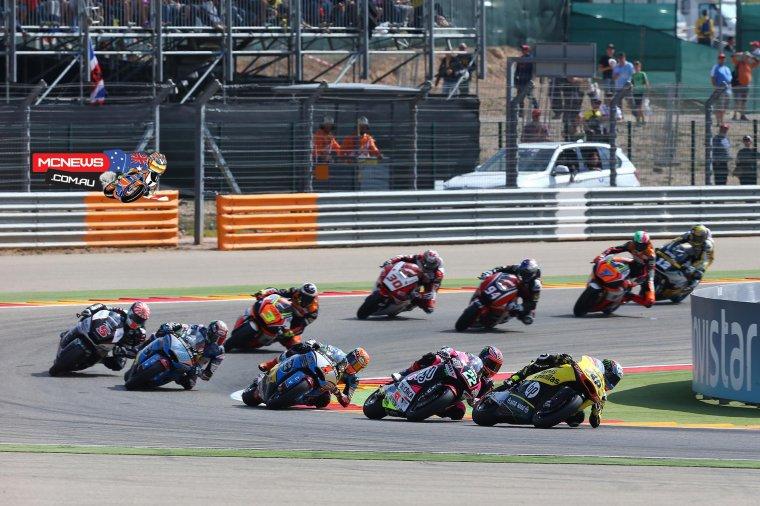 ARAGON: Moto3 & Moto2, Courses