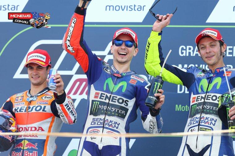 ARAGON: MotoGP, Course