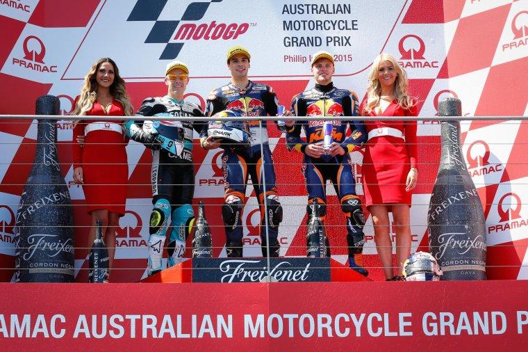 AUSTRALIE: Moto3 & Moto2, Courses