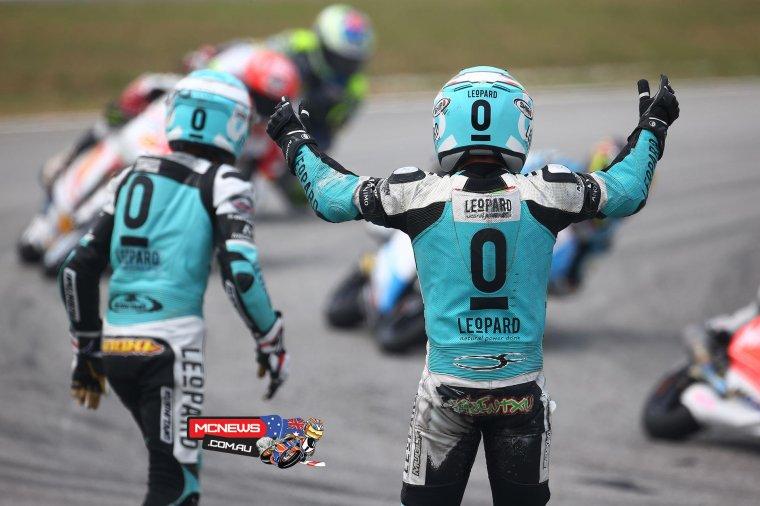 MALAISIE: Moto3 & Moto2, Les course