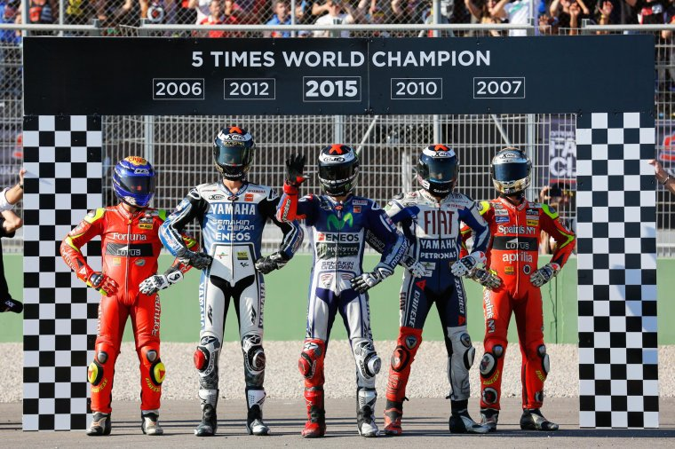 Jorge Lorenzo, champion MotoGP 2015.