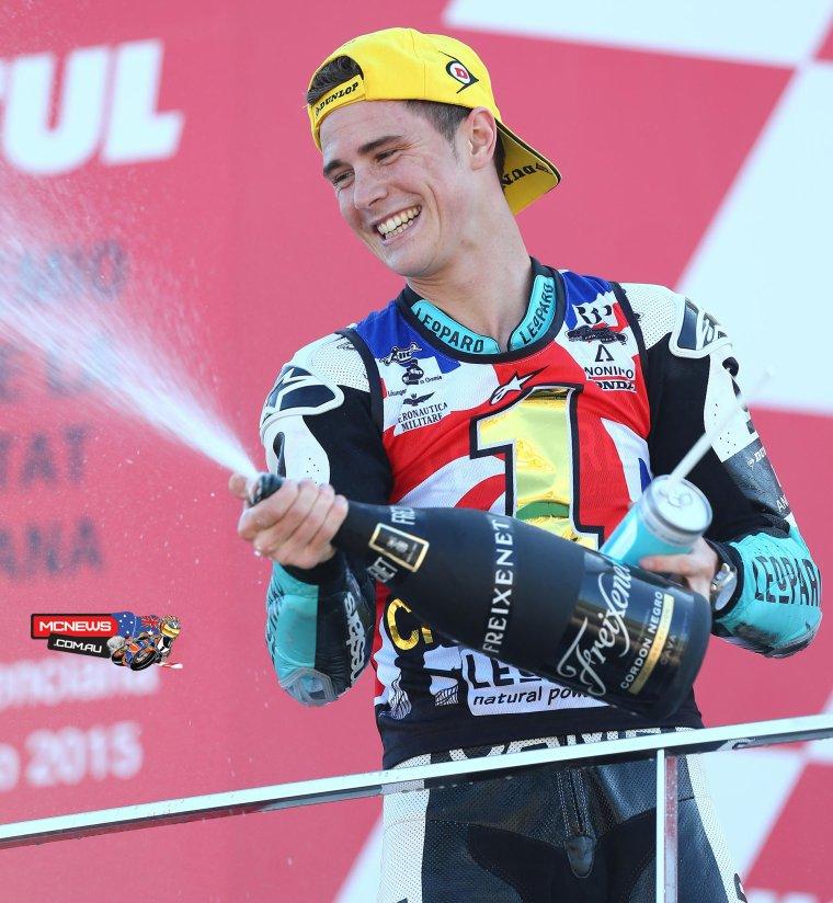 Danny Kent, Champion Moto3 2015
