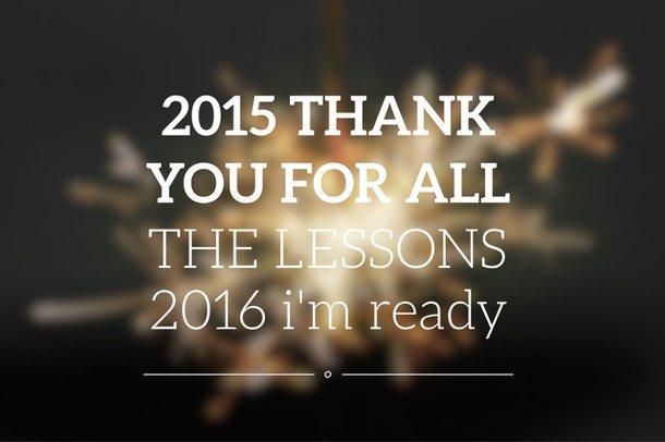 Bonne année 2016 ♥