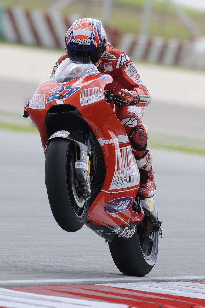 Casey Stoner retourne chez Ducati