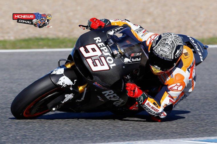 Test MotoGP Intersaison Valencia
