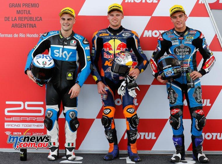 Argentine - Moto3/Moto2, Qualif & WarmUp