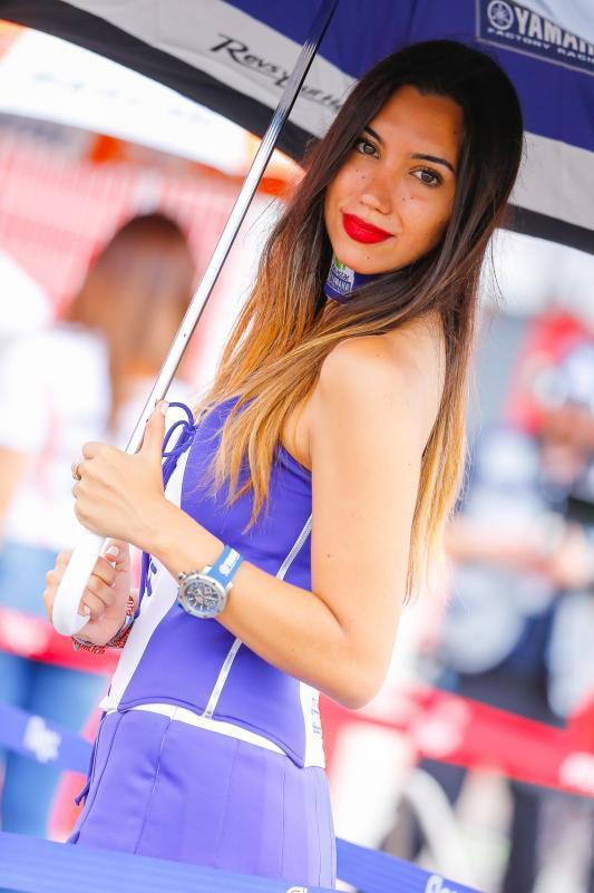 Argentine, les grid girls