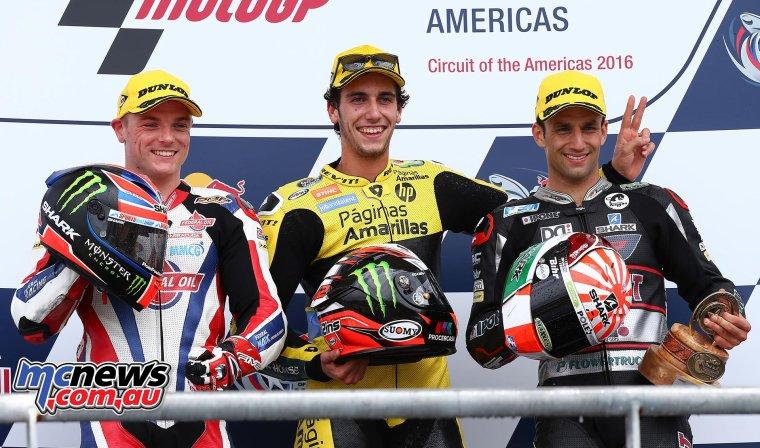 Amérique - Moto3/Moto2 - Les courses