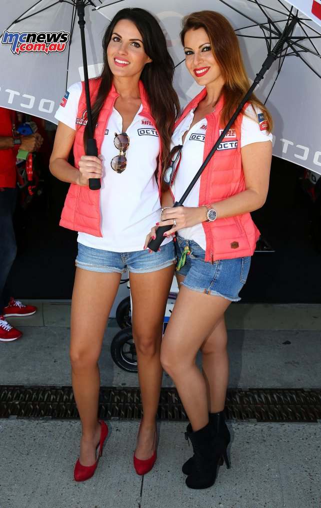 Espagne - Paddock Girls