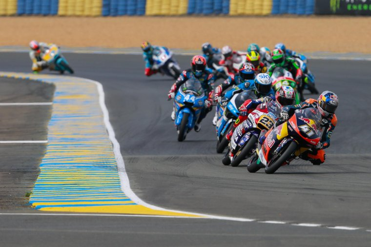 France - Moto3/Moto2 - Les courses
