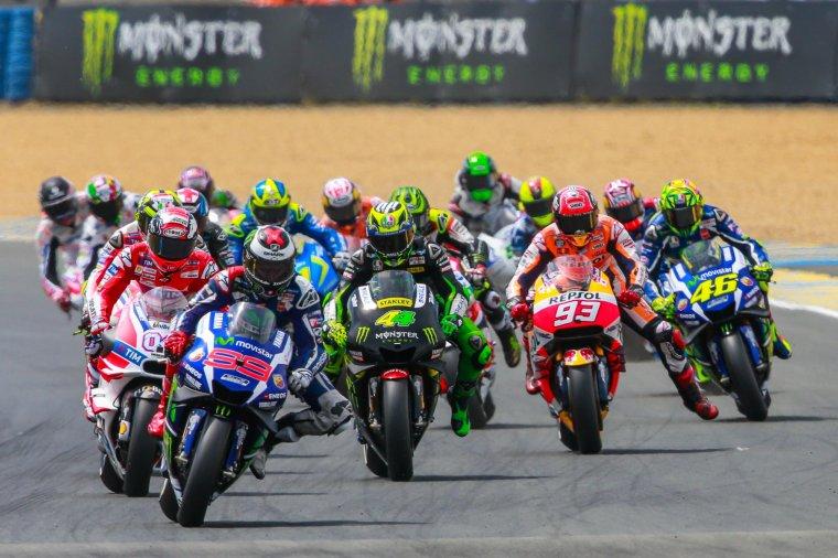 France - MotoGP - La course