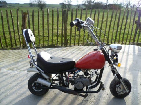 Mini Chopper ( pocket) très Rare