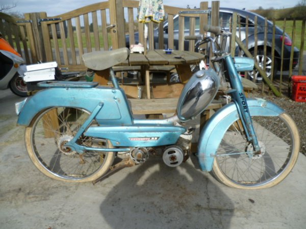 Peugeot BB classe A de 1965