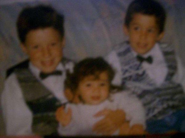 Mes grands frères, les hommes de ma vie  ♥.