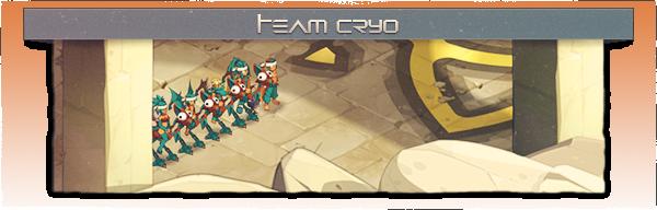 Présentation: Team Cryo