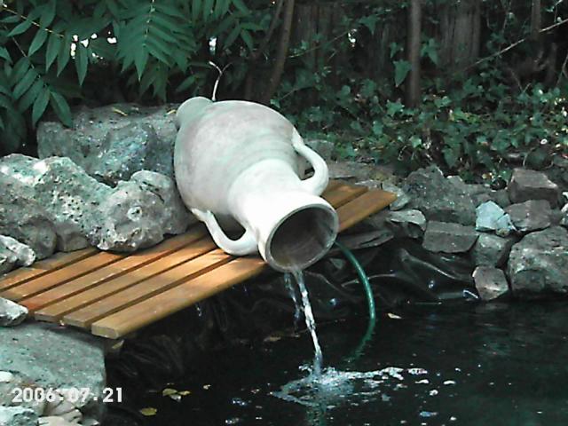 Ziggy aquariums et étang de jardin.