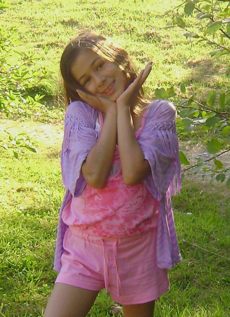 ma fille ma ptite beauté ke jaime ♥