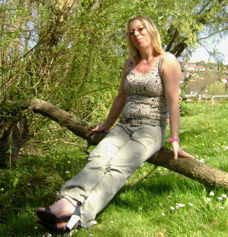 tkil a profité du beau soleil avec ma fille bsx bsx ;;)