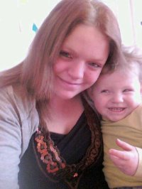moi et ma fille quand elle avai 2 ans