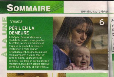 Julie dans TV Hebdo