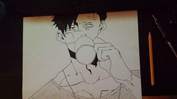 Mon dessin pour le concours de OP--Kidko--OP