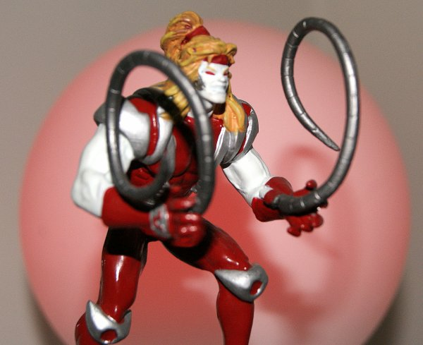 OMEGA RED . Le Tueur Rouge .