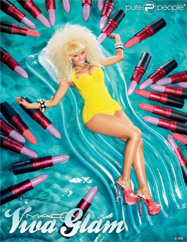 Nicki Minaj : Super Glam' pour M.A.C...