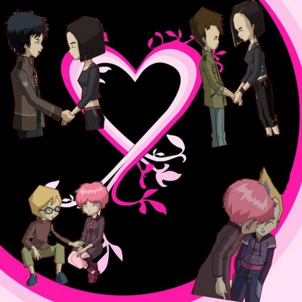 Images sur les couples de Code Lyoko