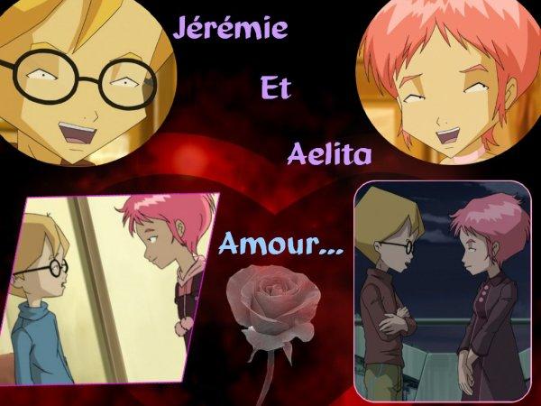 Créations réalisées par moi-même sur Aelita et Jeremy !