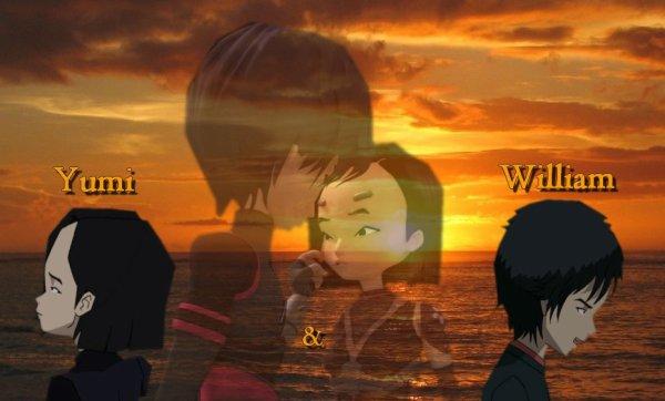 Créations réalisées par moi-même sur William et Yumi !