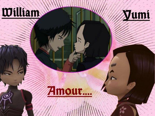 Créations sur William et Yumi !