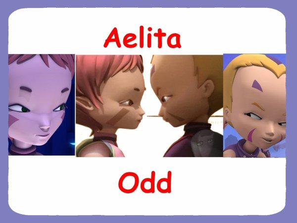 Créations réalisées par moi-même sur Odd et Aelita !