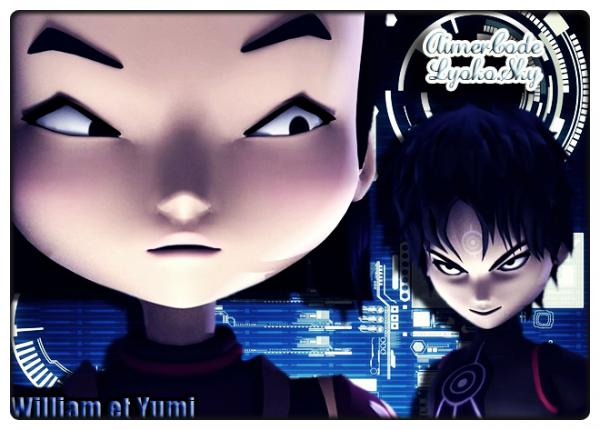 Super montage de Code-----Lyoko pour mon blog ! :)