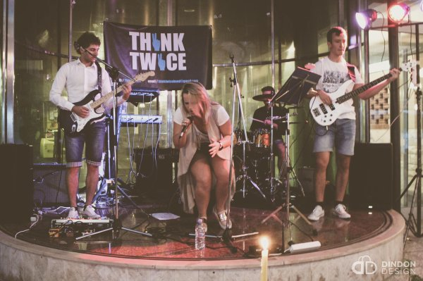 THINK TWICE band