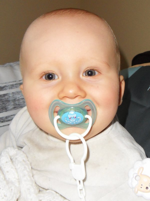Nolan mon fils bientôt 8 mois déjà <3<3