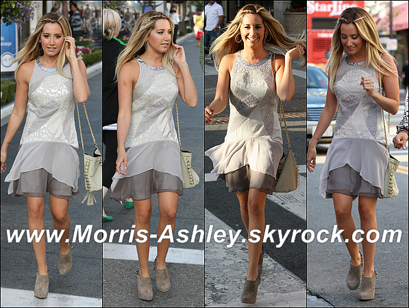 18/06/2012 :Ashley était à la première de l'émission « Miss Advised » qu'elle a elle-même produite. Top ou Flop ?