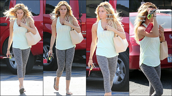 21/06/2012 :Ash a été aperçu quittant son salon de manucure à Toluca Lake (L.A.). Top ou Flop ?