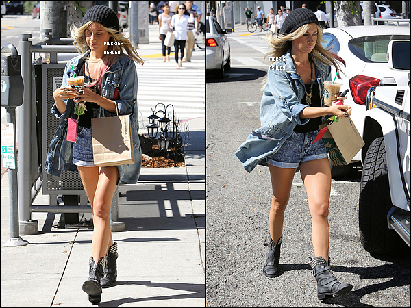 28/06/2012 - Ashley est passée prendre une boisson au Starbucks dans le West Hollywood. Top ou Flop ?