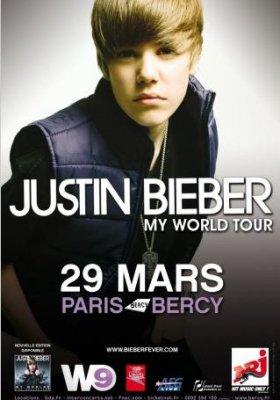 Nouvelles dates pour la tournée Européenne de Justin