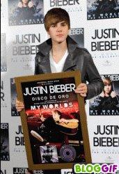 Justin fait la promo de son album
