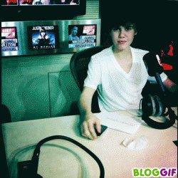 Justin à NRJ