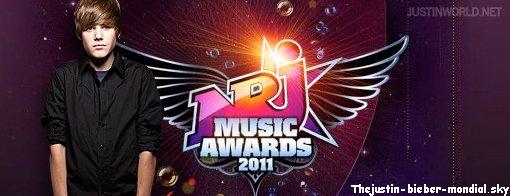 Pas d'NRJ Music Award pour Justin !